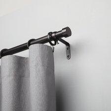cappa single curtain rod