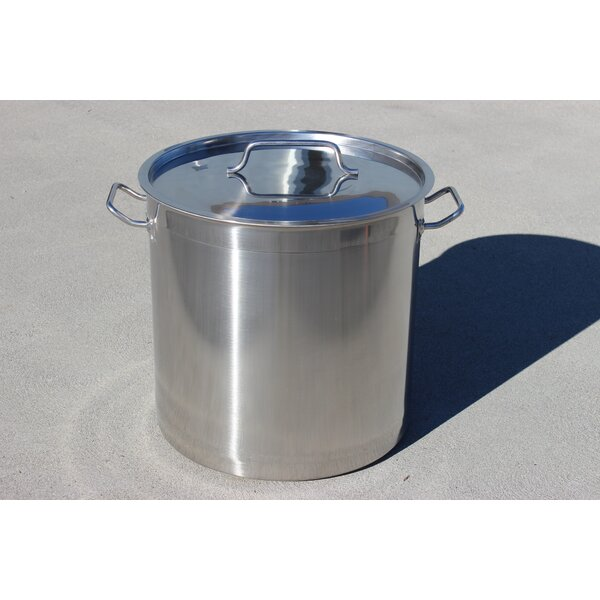 Triply Bottom Stainless Steel Brew Pot and Kettle by Concord Cookware