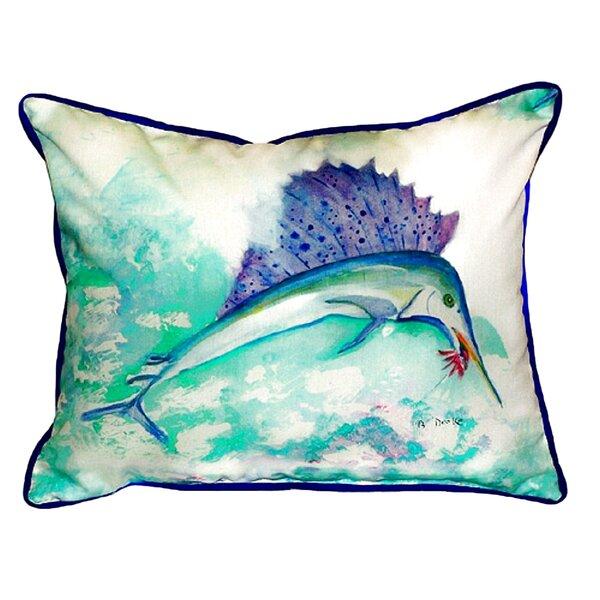 Sailfish Indoor/Outdoor Lumbar Pillow