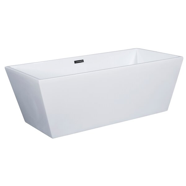 59 x 29 Freestanding Soaking Bathtub by Alfi Brand