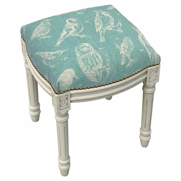 Chickadee Accent Stool by 123 Creations