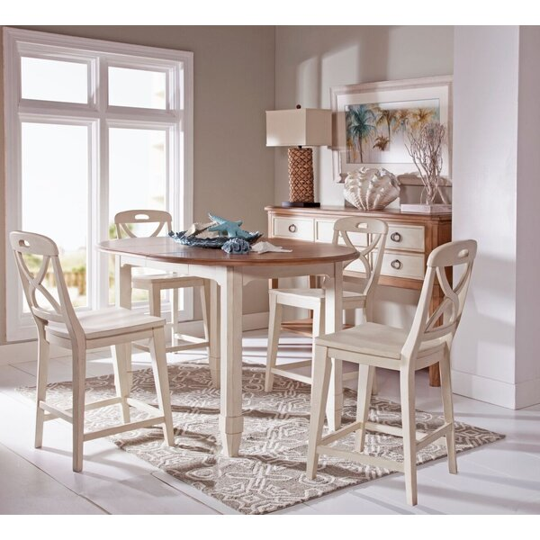 Millbrook 5 Piece Extendable Dining Table Set by Panama Jack Home