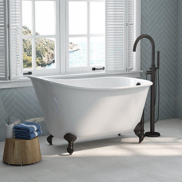 54 x 30 Clawfoot Bathtub by Cambridge Plumbing