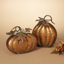 Pumpkin Flair Rose Gold Plated