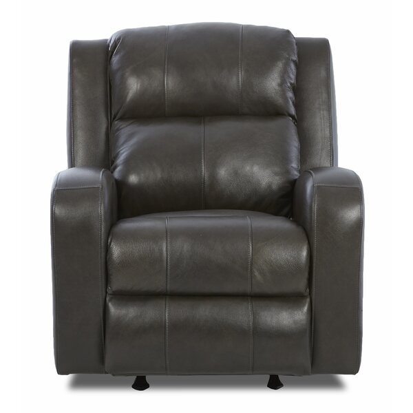 Darfur Leather Power Rocker Recliner by Red Barrel Studio Red Barrel Studio
