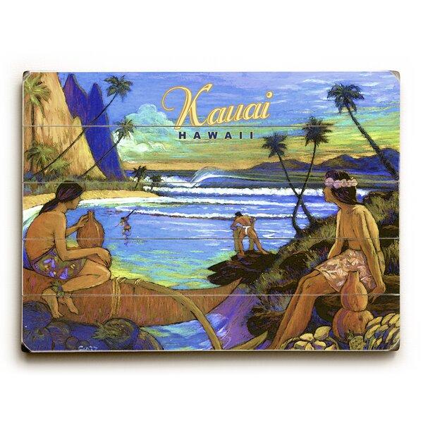 Kauai Hawaii Vintage Advertisement by Artehouse LLC