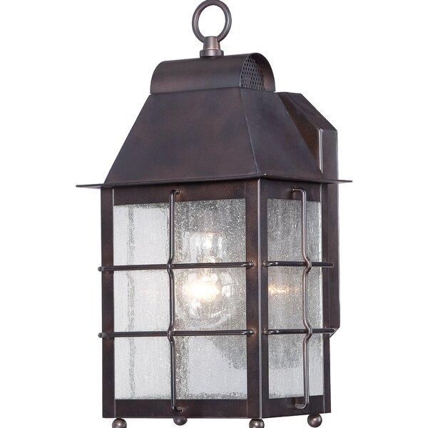 Lelystad 1-Light Outdoor Wall lantern by World Menagerie