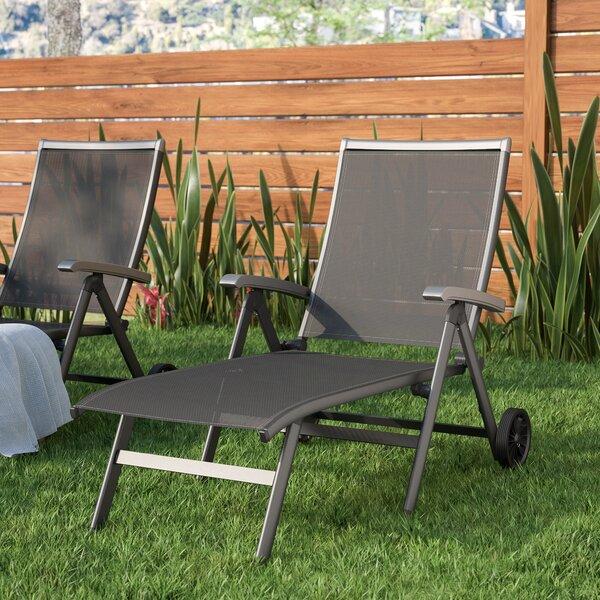 Denney Pool Reclining Chaise Lounge by Latitude Run Latitude Run