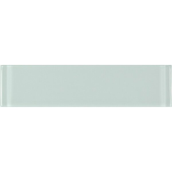 Metro 3 x 12 Glass Subway Tile in Arctic by Abolos