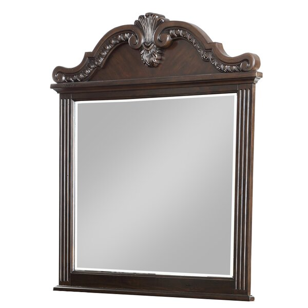 Michaud Rectangular Dresser Mirror by Astoria Grand