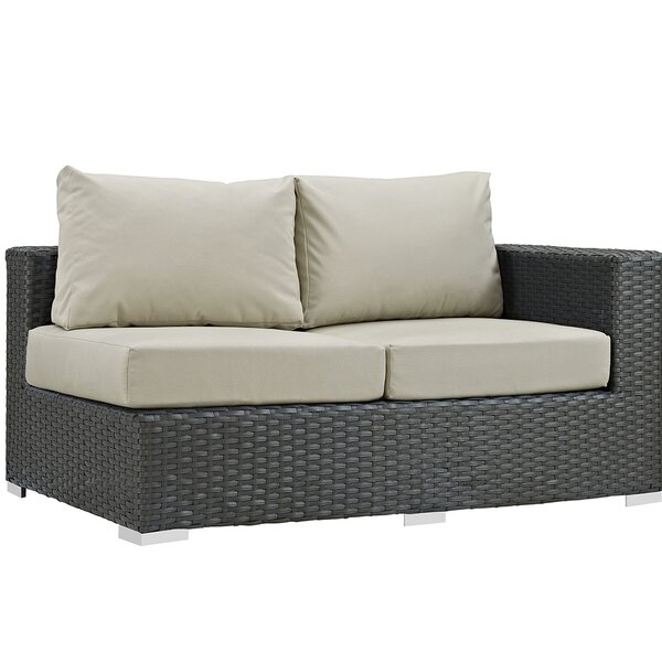Tripp Right Arm Loveseat Sectional Piece with Cushions by Brayden Studio