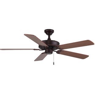 Compare & Buy 52 Philbrook 5-Blade Ceiling Fan By Charlton Home