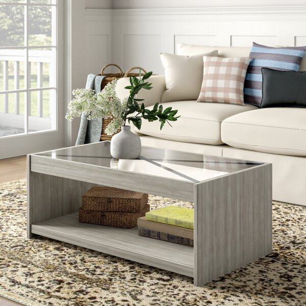 Laguna Coffee Table With Storage By Gracie Oaks