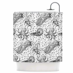 Cephalopods Shower Curtain