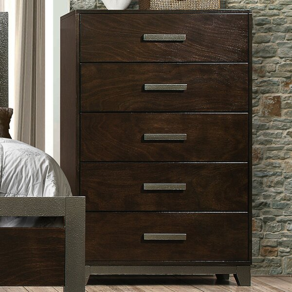 McMullen 5 Drawer Chest by Red Barrel Studio