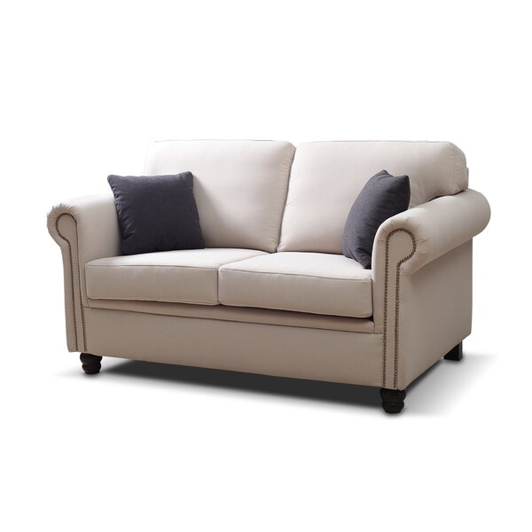 Valuable Brands Britney Traditional Loveseat by Darby Home Co by Darby Home Co
