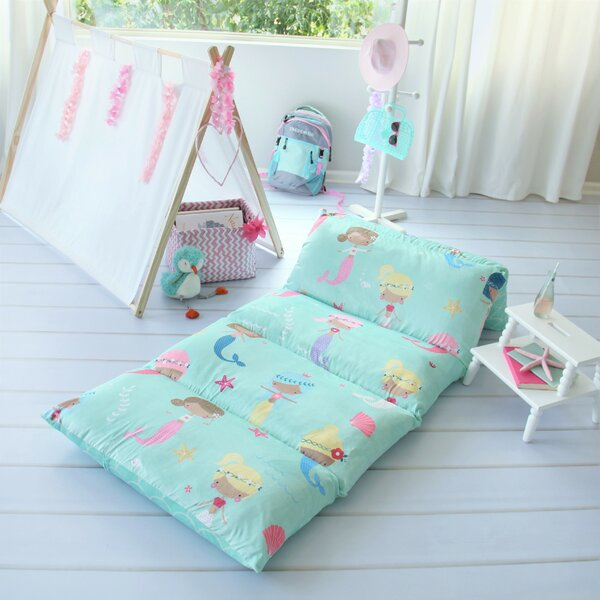 Bayliff Mermaid Themed Pillow Cover by Harriet Bee