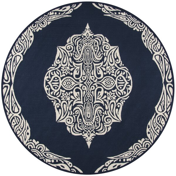 Bromville Blue Area Rug by World Menagerie