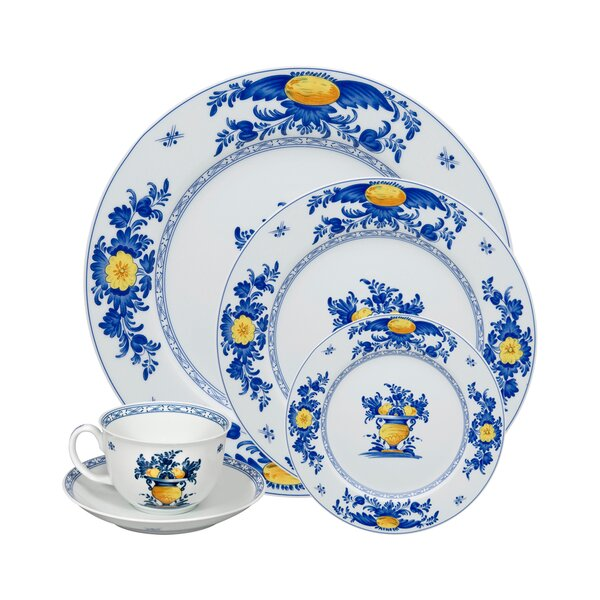 Viana 5 Piece Place Setting, Service for 1 by Vista Alegre
