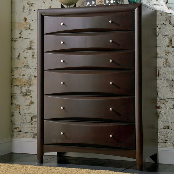 Wexford 6 Drawer Chest by Wade Logan