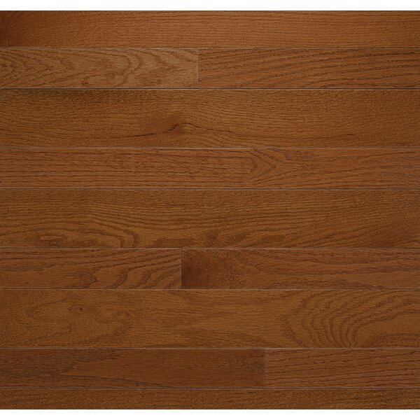 Homestyle 3-1/4 Solid Red Oak Hardwood Flooring in Gunstock by Somerset Floors