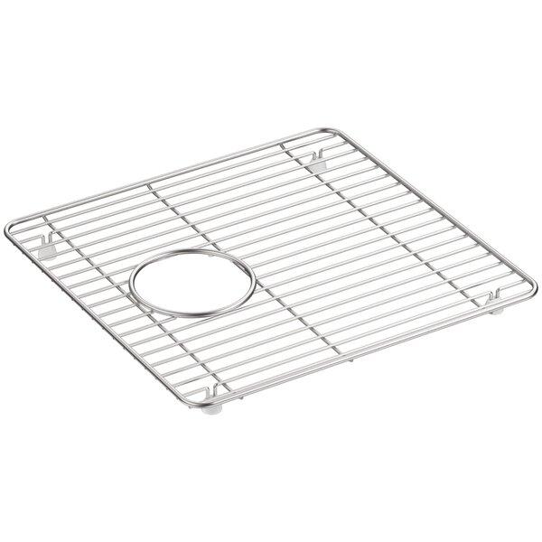 Cairn™ Stainless Steel Sink Rack, 13-3/4 x 14, for K-8199 by Kohler
