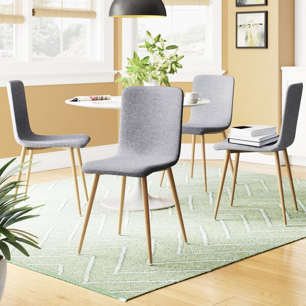 #2 Amir Upholstered Dining Chair (Set Of 4) By Corrigan Studio New