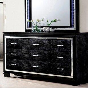 Sidney 9 Drawer Dresser by Rosdorf Park