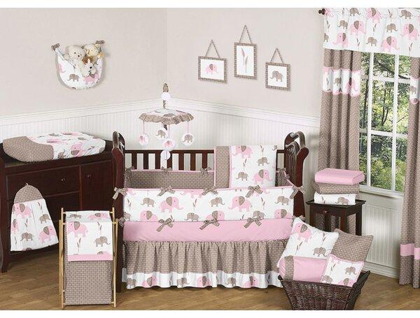 Elephant 9 Piece Crib Bedding Set by Sweet Jojo Designs