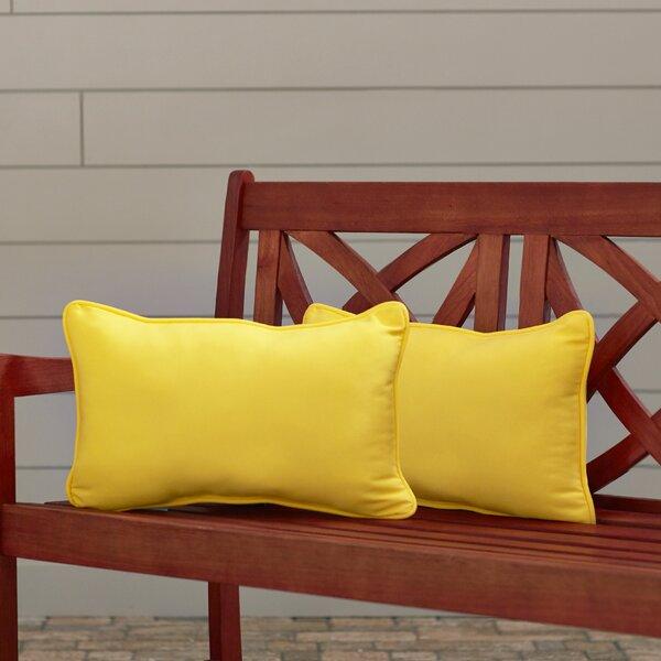 Claiborne Indoor/Outdoor Lumbar Pillow (Set of 2)