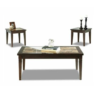 Tatum 3 Piece Coffee Table Set by Klaussner Furniture