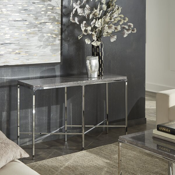 Upson Console Table By Orren Ellis