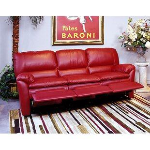 Luxor Leather Reclining Sofa Omnia Leather