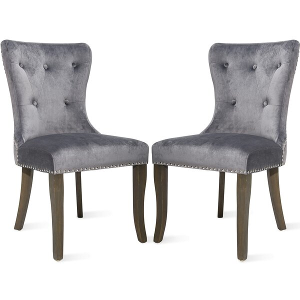 Jovani Upholstered Dining Chair (Set Of 2) By Gracie Oaks