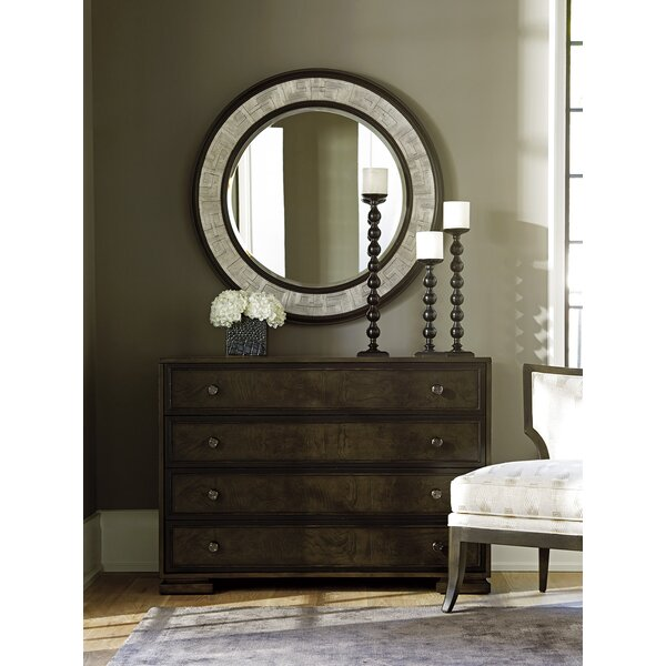 Brentwood 4 Drawer Dresser with Mirror by Barclay Butera