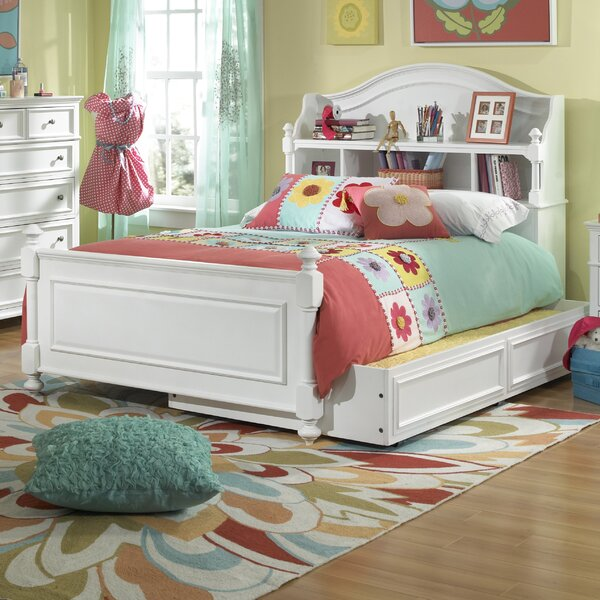 Madison Platform Bed with Bookcase by LC Kids