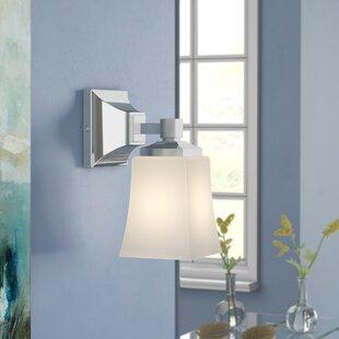 Affordable Bembery 1-Light LED Bath Sconce By Ebern Designs