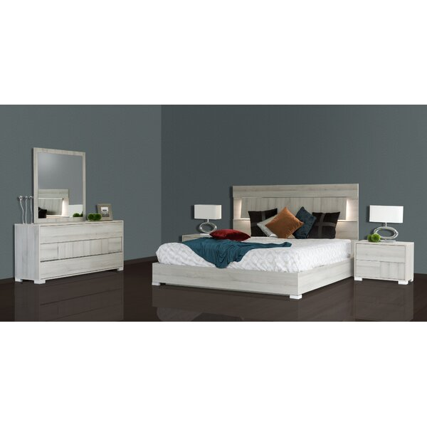 Febus Platform 5 Pieces Bedroom Set by Orren Ellis