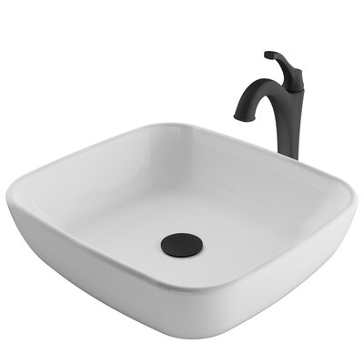 Square Bathroom Sink Faucet