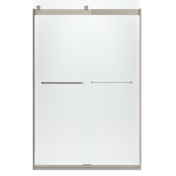 Levity 47.63 x 74 Bypass Shower Door with CleanCoat® Technology by Kohler