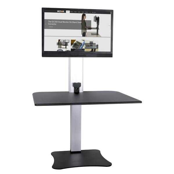 Kit Electric Single Monitor Standing Desk by Symple Stuff