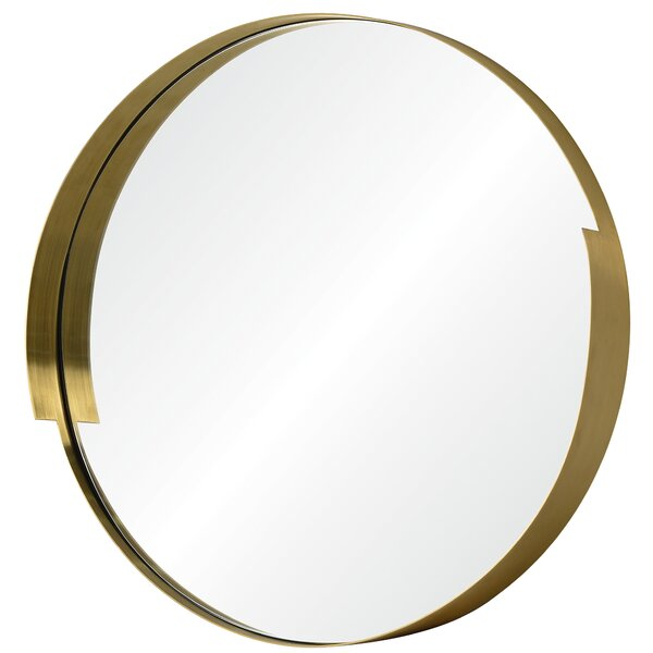 Echo Round Wall Mirror by Varaluz