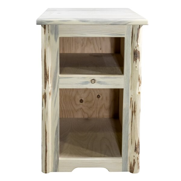 End Table with Storage by Montana Woodworks?? Montana Woodworks??