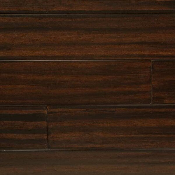 5 Engineered Bamboo  Flooring in Coffee Bean by Easoon USA