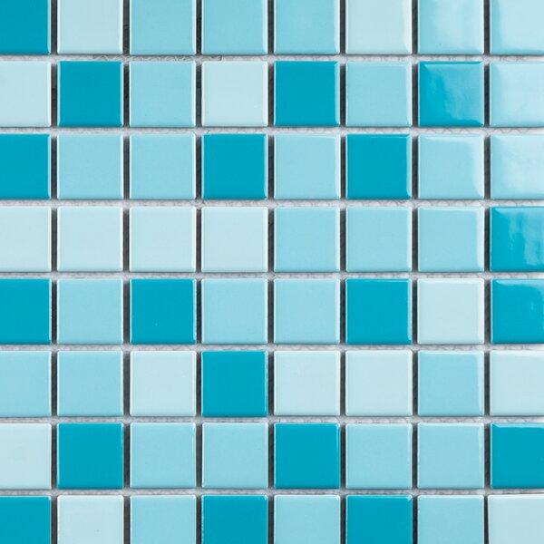 1 x 1 Porcelain Mosaic Tile