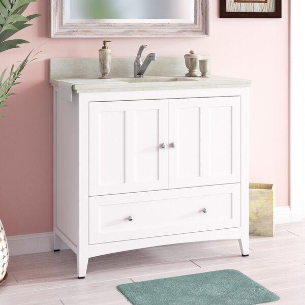 Artic Modern 36 Single Bathroom Vanity Set by Longshore TidesArtic Modern 36 Single Bathroom Vanity Set by Longshore Tides