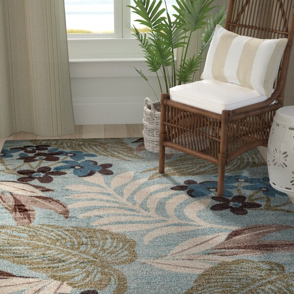 Lynbrook Blue/Brown Area Rug by Bay Isle Home