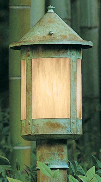 Berkeley 1-Light Lantern Head by Arroyo Craftsman