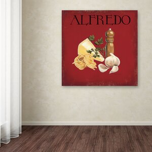 Italian Cuisine III by Marco Fabiano Graphic Art on Wrapped Canvas by Trademark Fine Art