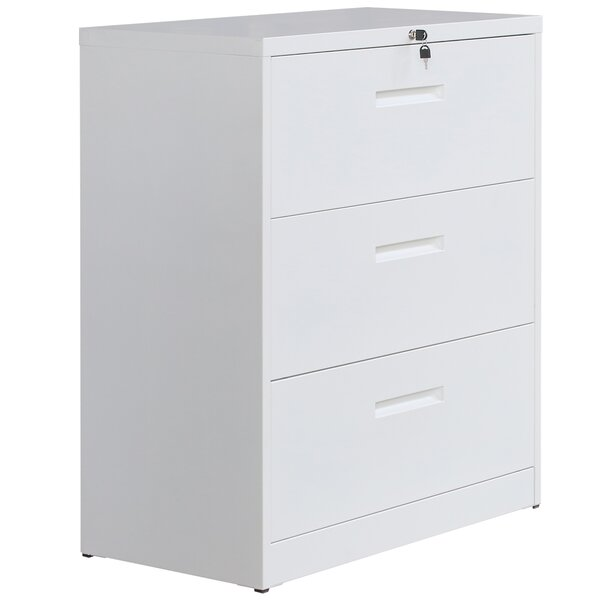 Anderzon 3-Drawer Lateral Filing Cabinet